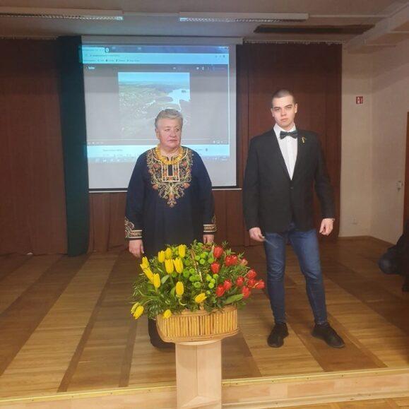 Mūsų mokyklos EV19/2 grupės mokinys Edvinas Bernadišius laimėjo III vietą tarptautiniame dienoraščio konkurse ŠVIES@.AŠ