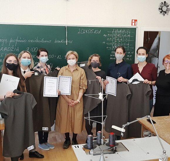 Mokyklinis siuvėjų profesinio meistriškumo konkursas