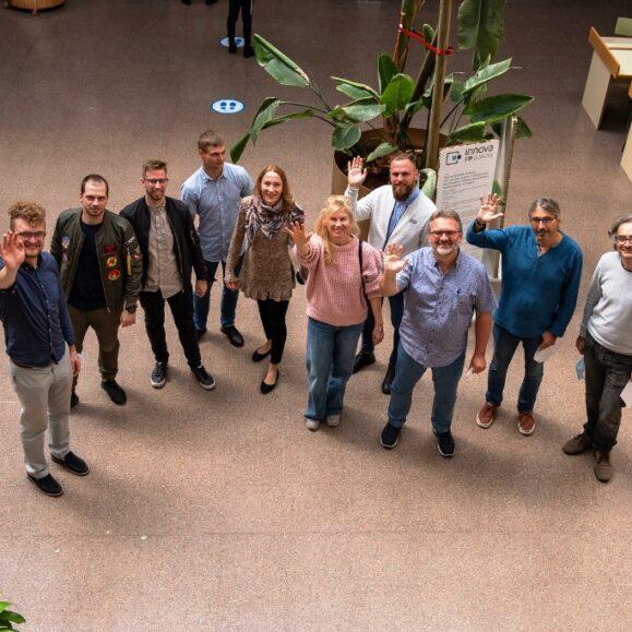 Įvyko antrasis Erasmus + VAVM koordinuojamo Inovacijų projekto susitikimas